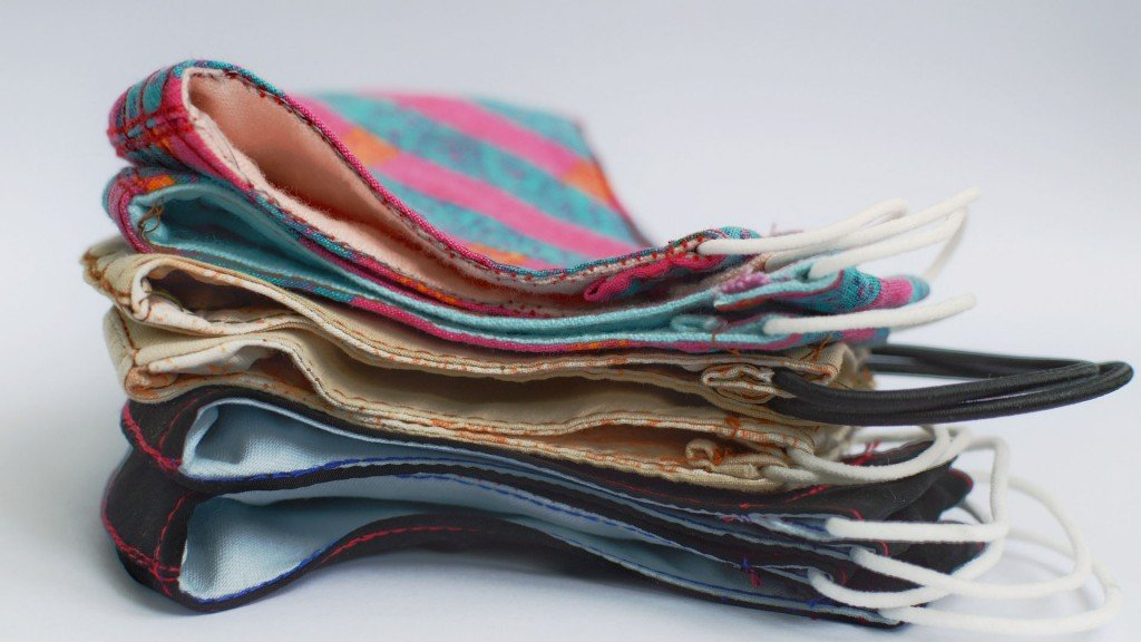 stack of Cloth Face Mask