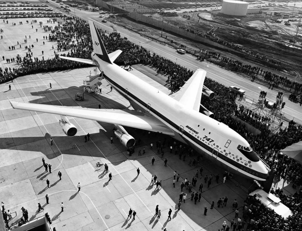 The First Boeing 747
