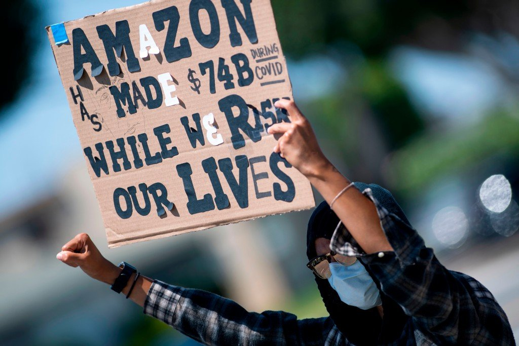 Amazon Workers Protest
