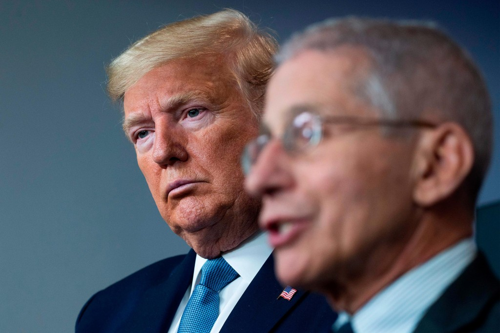 President Donald Trump and Dr. Anthony Fauci