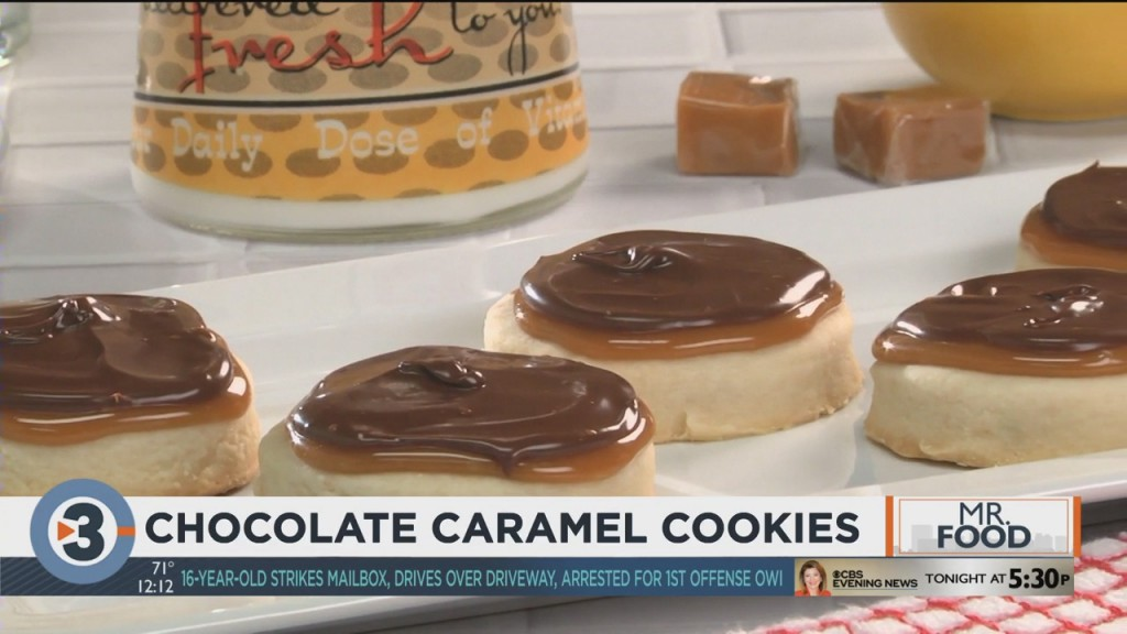 Mr. Food: Chocolate Caramel Cookies