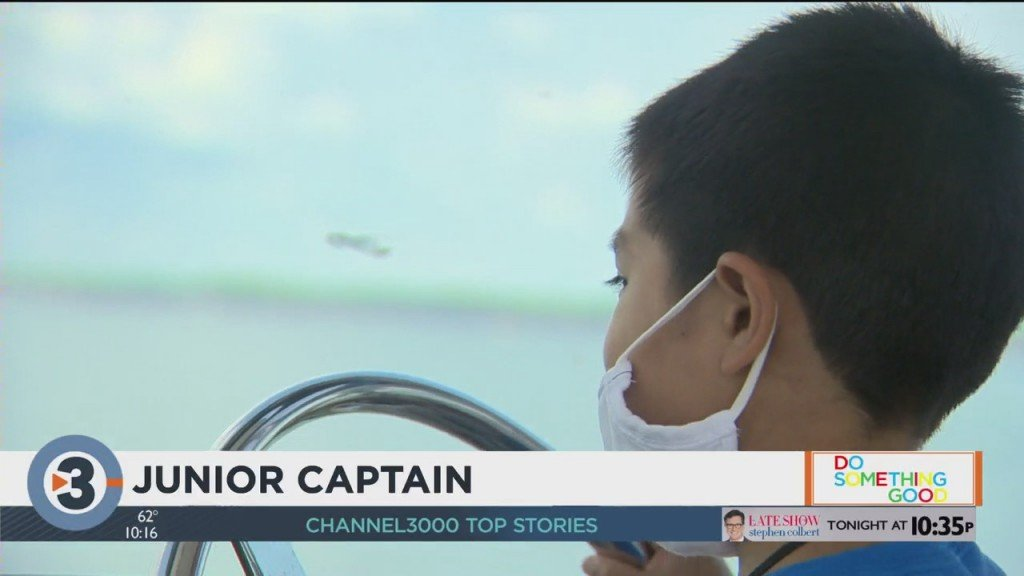 Junior Captain: Young Boy Battling Leukemia Gets Cruise To Remember
