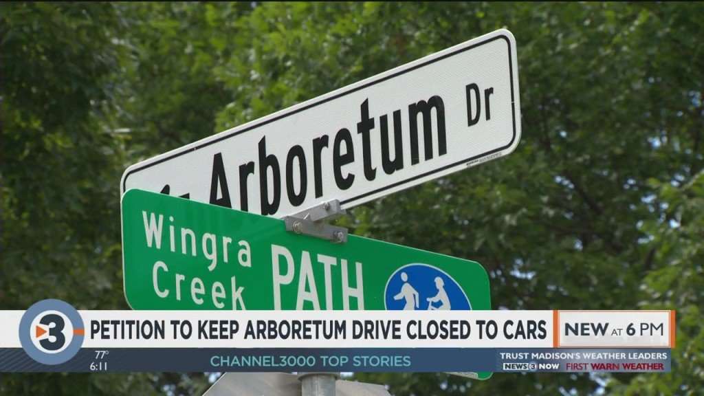 Petition To Keep Arboretum Drive Closed To Cars Tops 1,000 Signatures