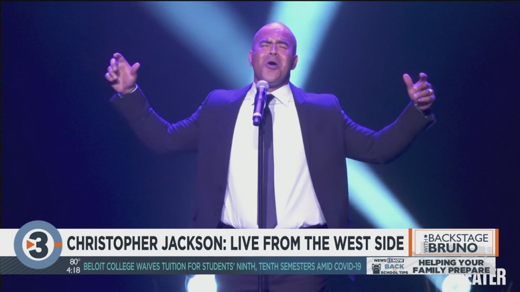 Backstage With Bruno: Christopher Jackson Goes Live From The West Side