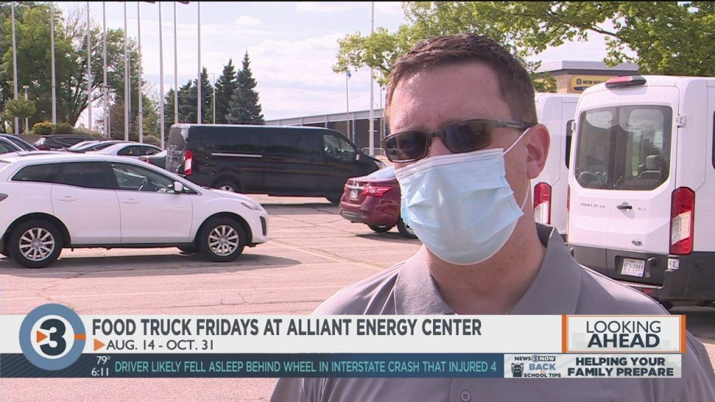 Alliant Energy Center Holding Food Truck Fridays