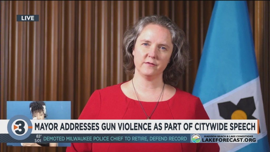 Madison Mayor Addresses Gun Violence As Part Of Citywide Speech