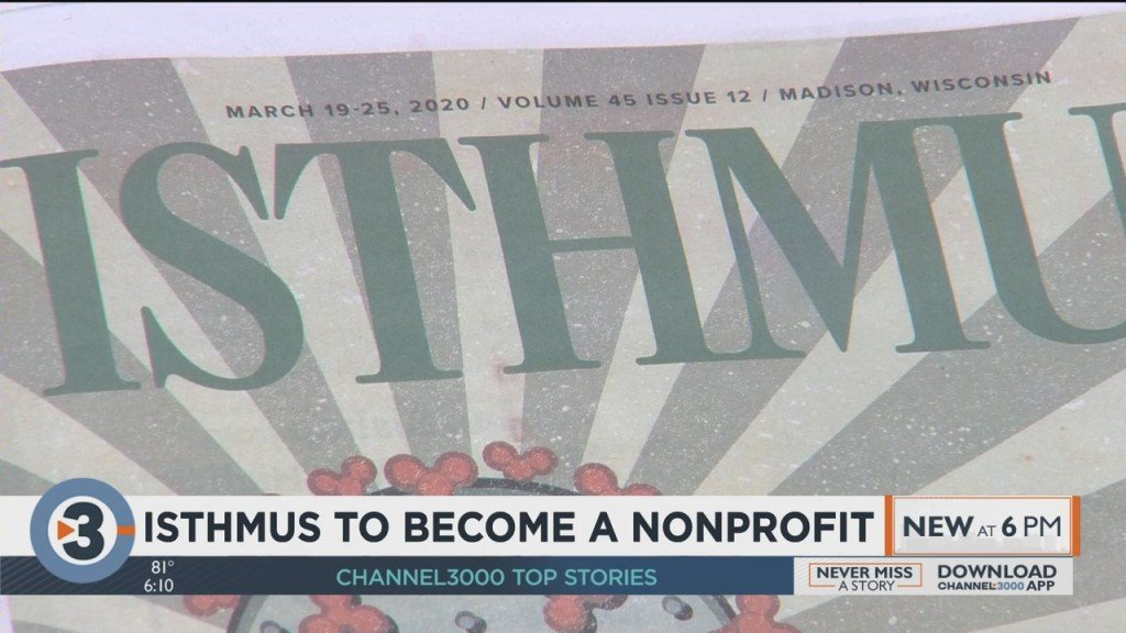 Isthmus To Become A Nonprofit