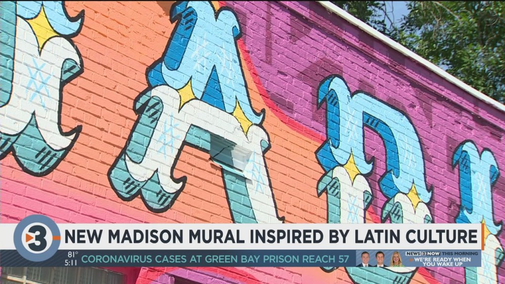 New Madison Mural Inspired By Latin Culture