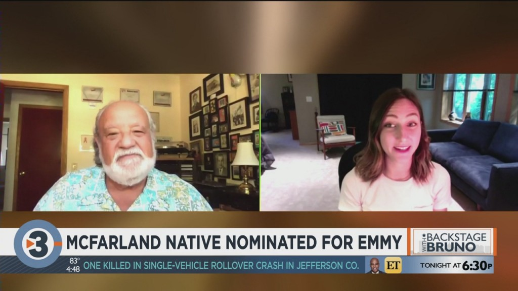 Backstage With Bruno: Mcfarland Native Nominated For Emmy