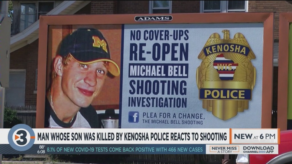 Man Whose Son Was Killed By Kenosha Police Reacts To Shooting