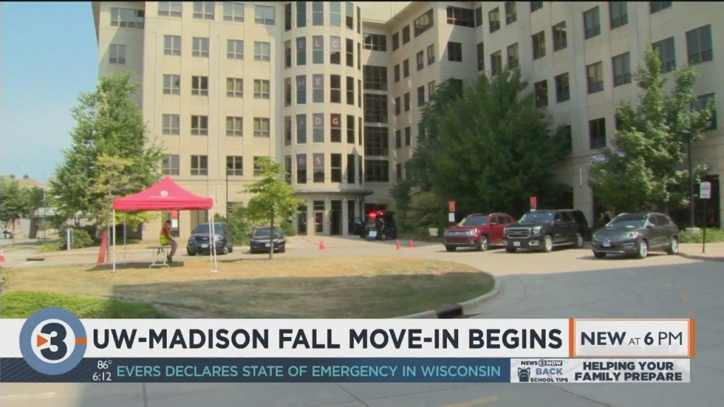 Uw Madison Fall Move In Begins