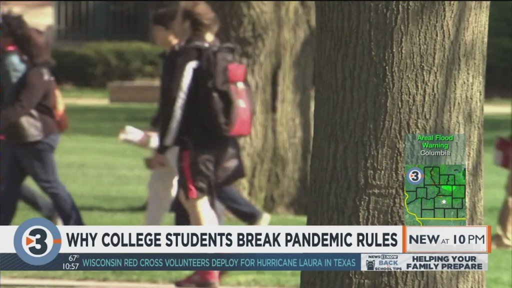 Why College Students Break Pandemic Rules