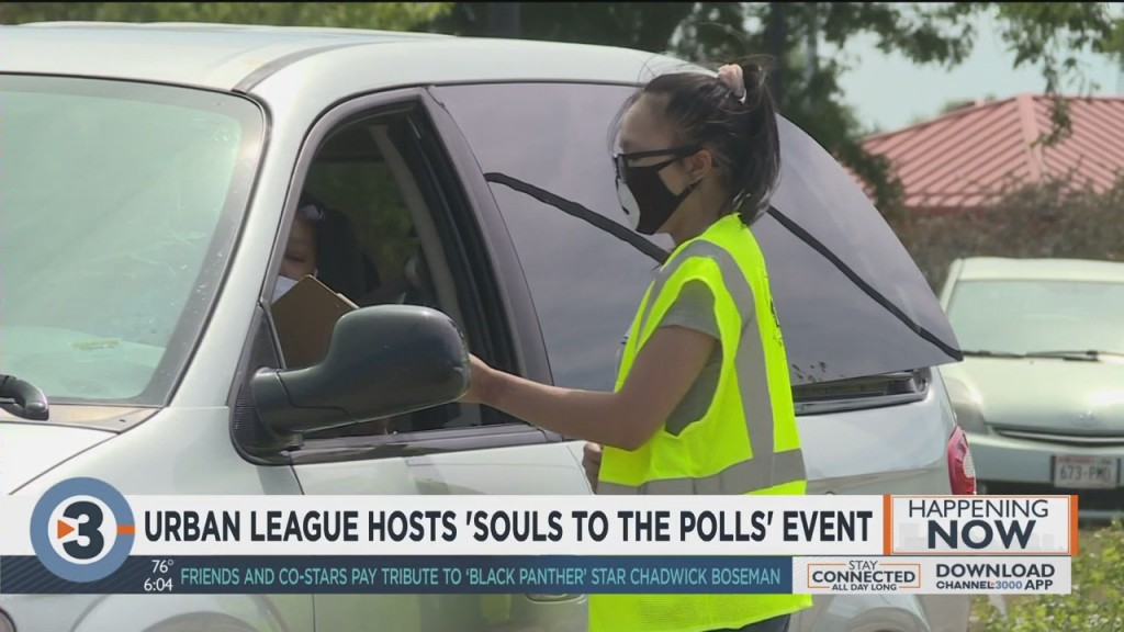 Urban League Hosts 'souls To The Polls' Event