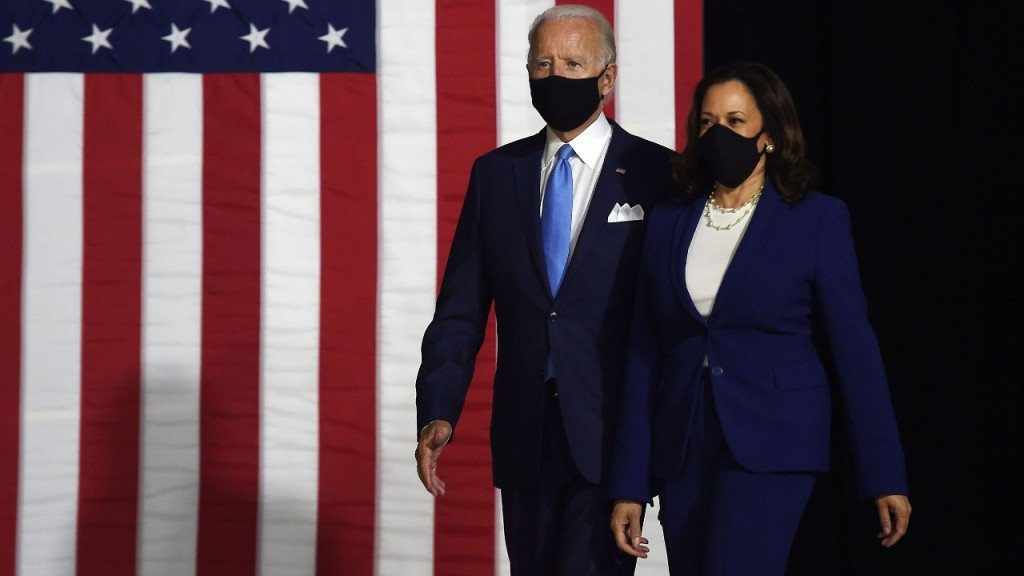 Biden Says Campaign Raised 26 Million In One Day Since Harris Joined The Ticket