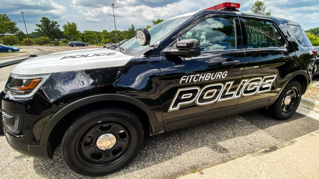 Fitchburg Police Squad Car