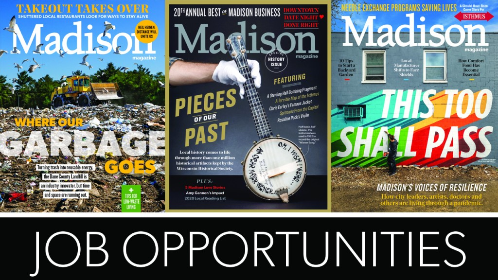 """three magazine covers with the words """"Job Opportunities"""""""