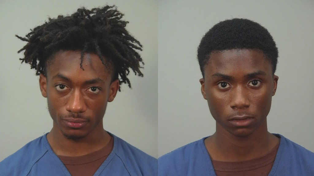 Pictured (from L to R): Katoine Richardson, Kaiwan Harvey