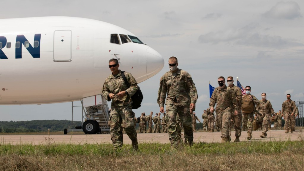 Wisconsin Soldiers Return Home From Afghanistan