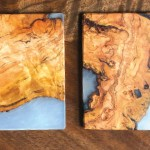 two coasters from pipermade