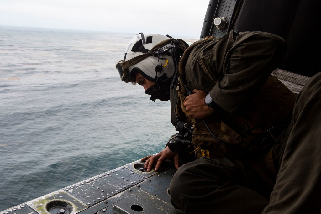 15th Meu, Uss Makin Island Conduct Search And Rescue Relief Operations