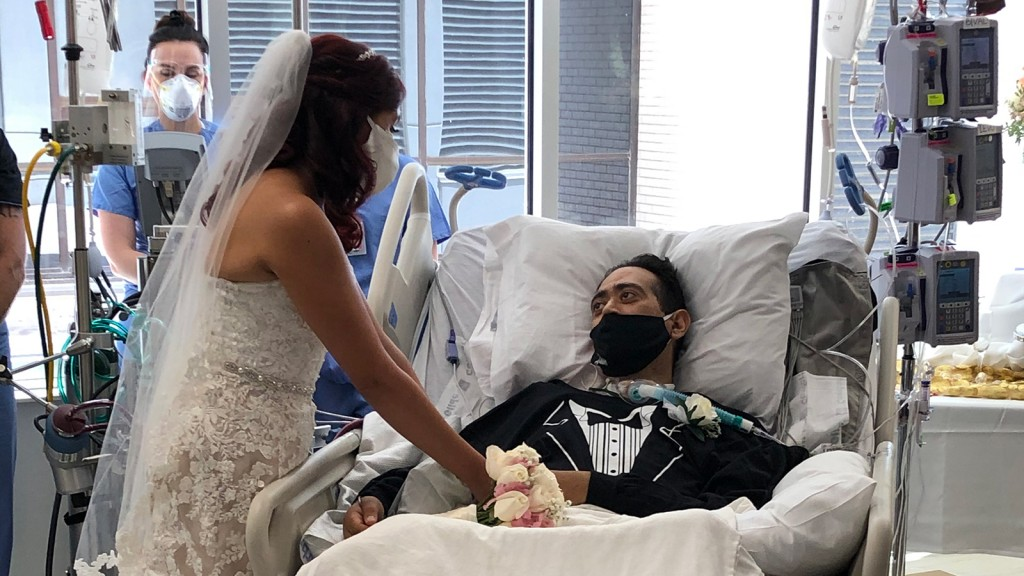 Covid-19 patient gets married at hospital