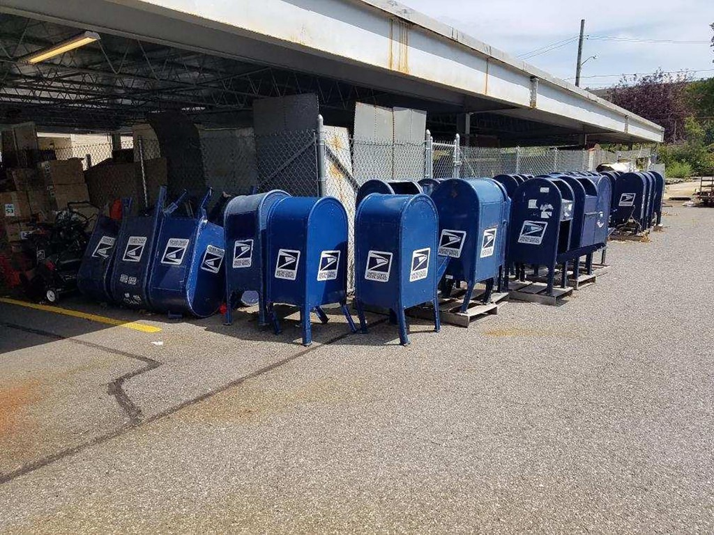 USPS collection boxes removed