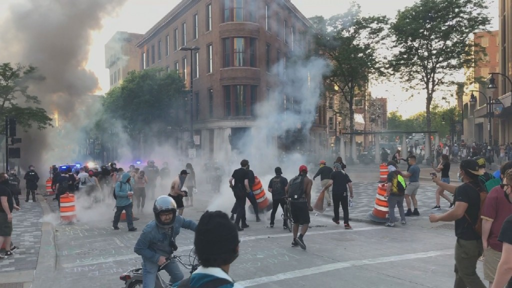 Madison Tear Gas