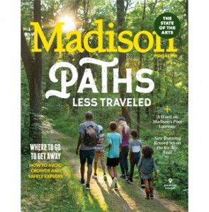 hiking cover of the September issue