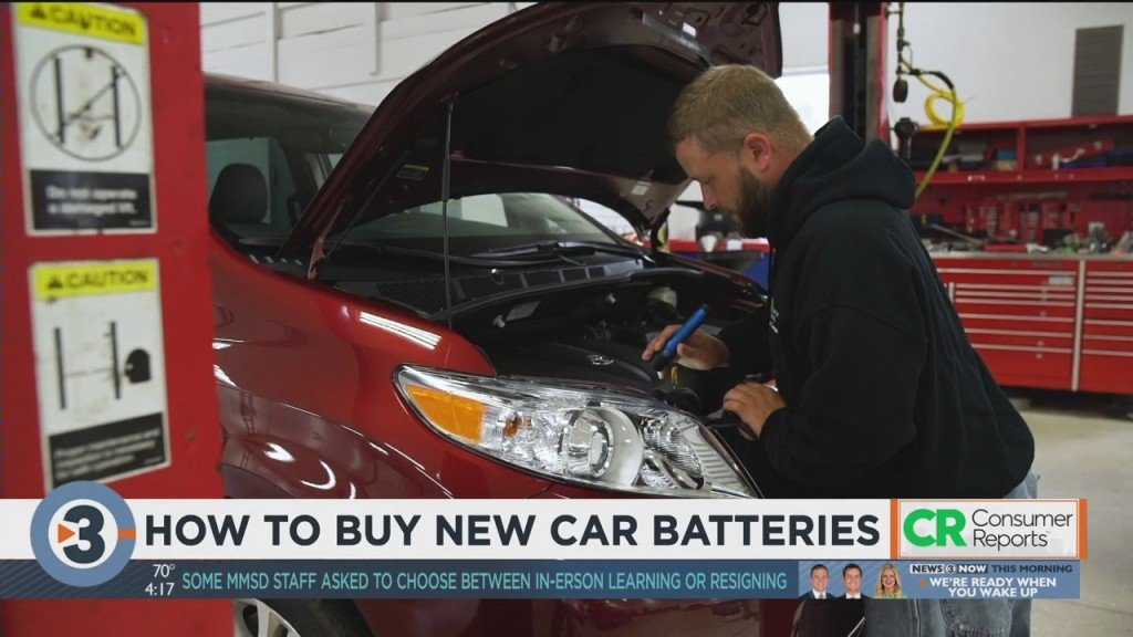 Consumer Reports: How To Buy New Car Batteries