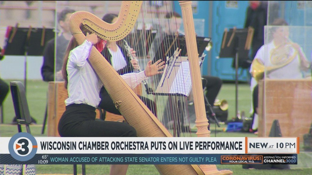 Wisconsin Chamber Orchestra Puts On Live Performance