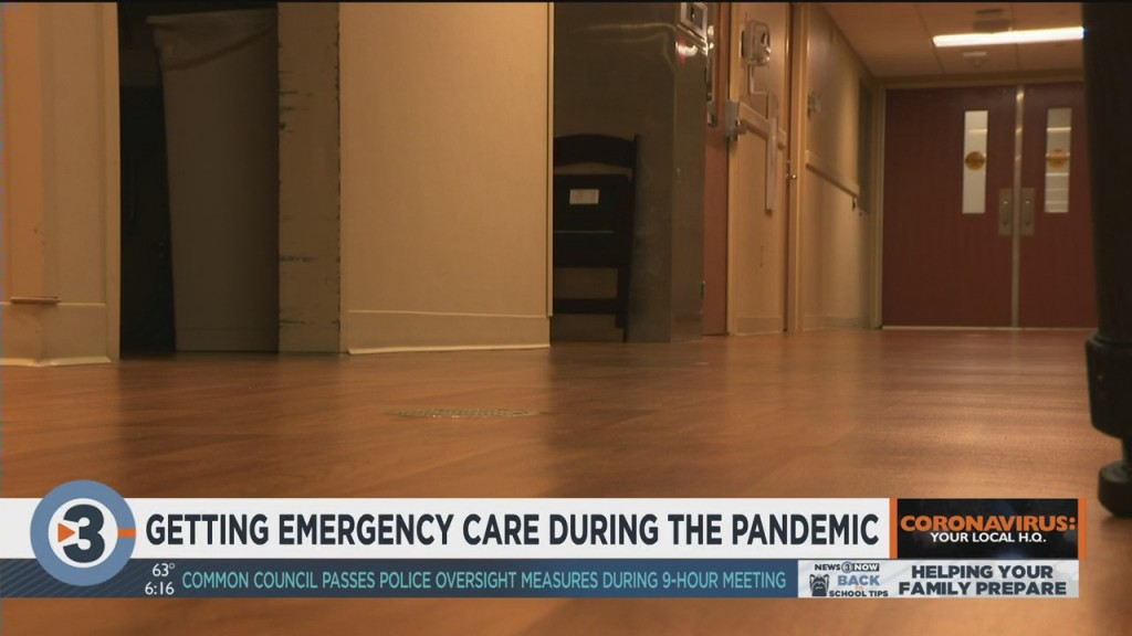 Madison Doctor Says Ers See Decrease In Visitors During Pandemic