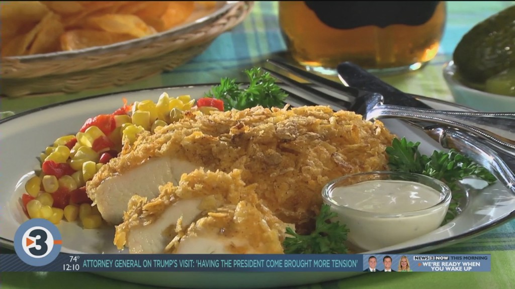 Mr. Food: Barbecue Chip Chicken