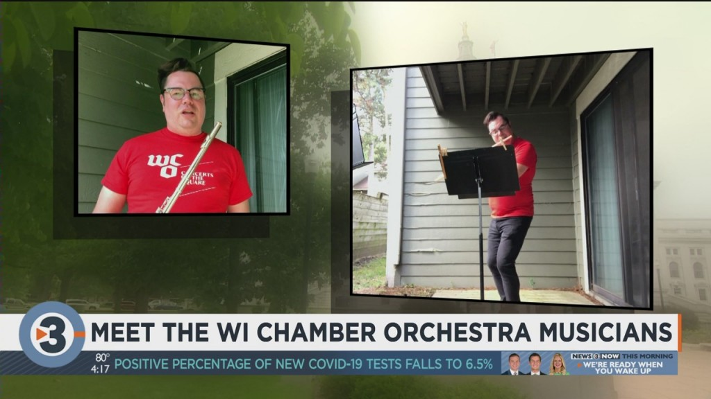 Meet The Wisconsin Chamber Orchestra's Musicians: Brandon Lepage Shares A Flute Solo