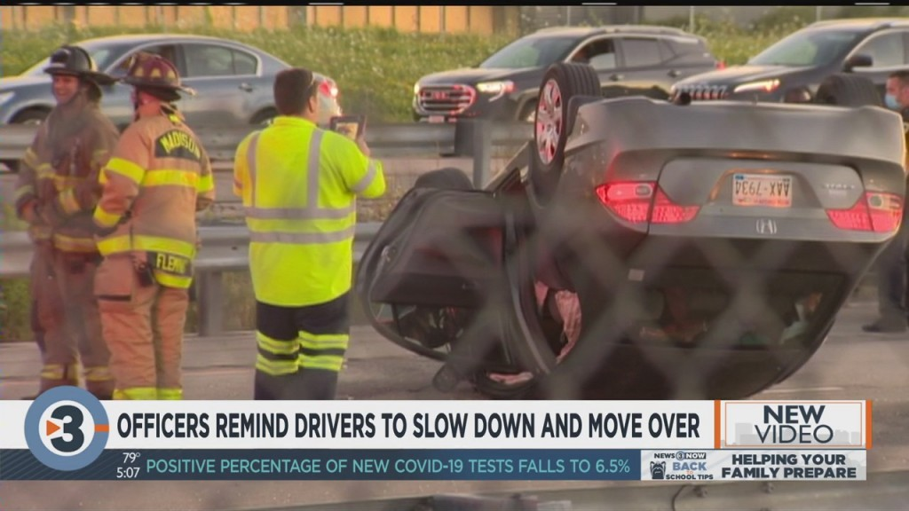 Officers Remind Drivers To Slow Down, Move Over
