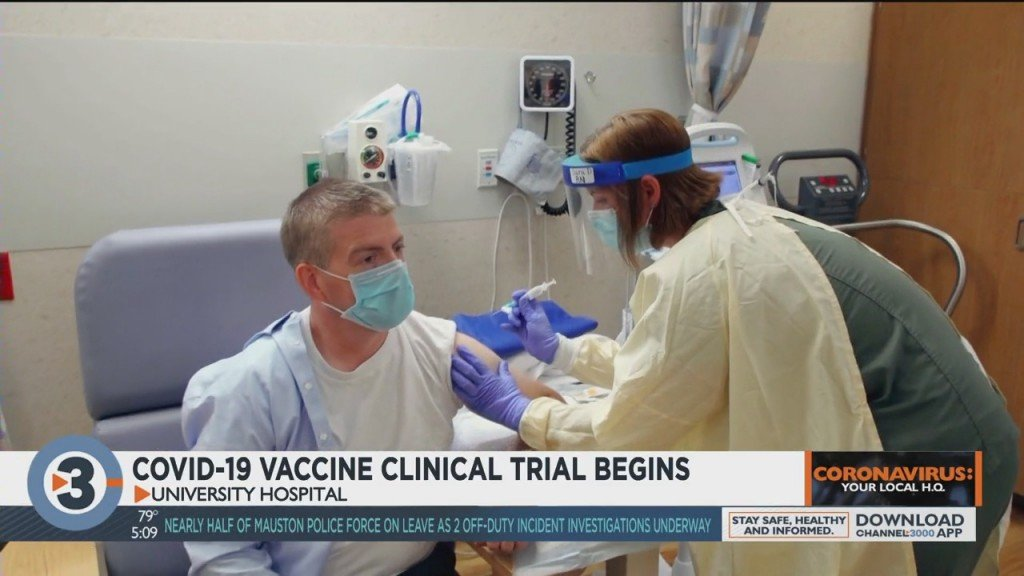 Covid 19 Vaccine Clinical Trial Begins