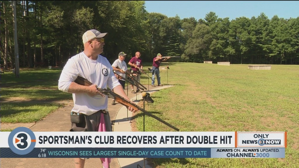 Muscoda Sportsman's Club Recovers After Double Hit