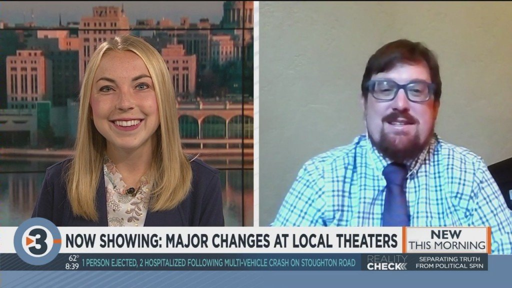 Local Theaters Reopen With Major Changes
