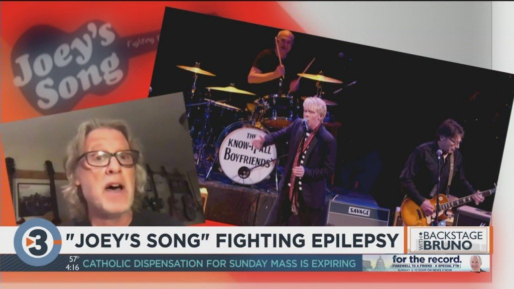 Backstage With Bruno: 'joey's Song' Performs To Fight Epilepsy