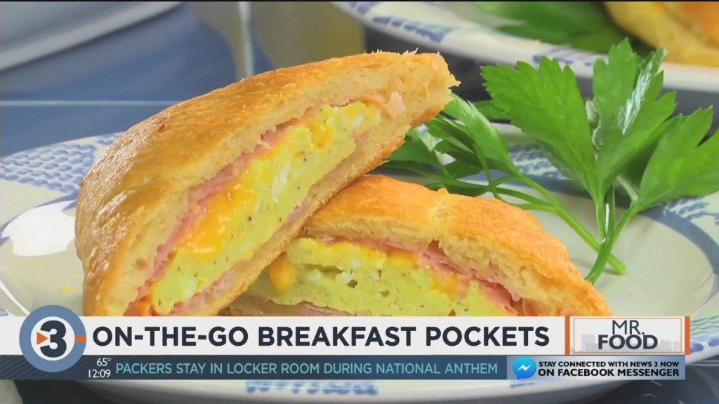 Mr. Food: On The Go Breakfast Pockets