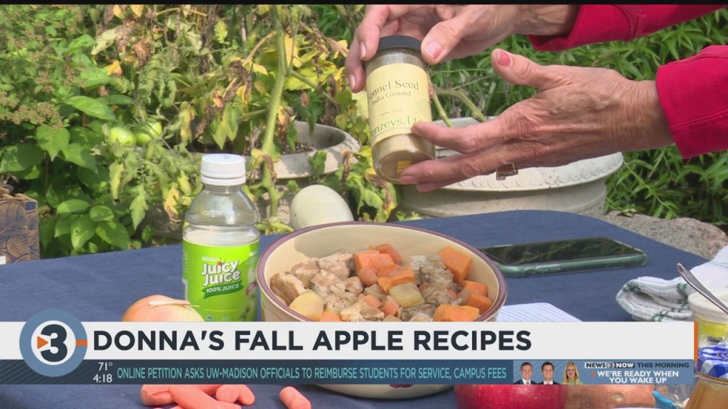 Donna Shares 3 Recipes For This Fall's Apple Picking Haul