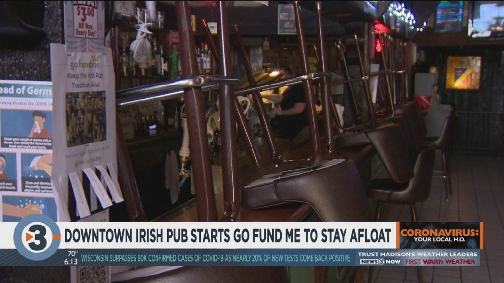 Downtown Irish Pub Starts Gofundme To Stay Afloat