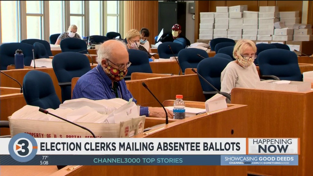 Election Clerks Mailing Absentee Ballots