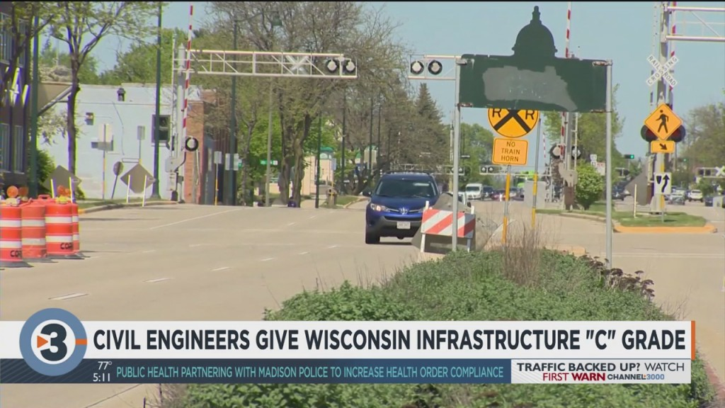 Civil Engineers Give Wisconsin Infrastructure 'c' Grade