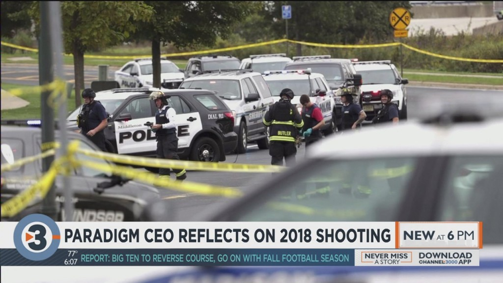 Paradigm Ceo Reflects On 2018 Shooting