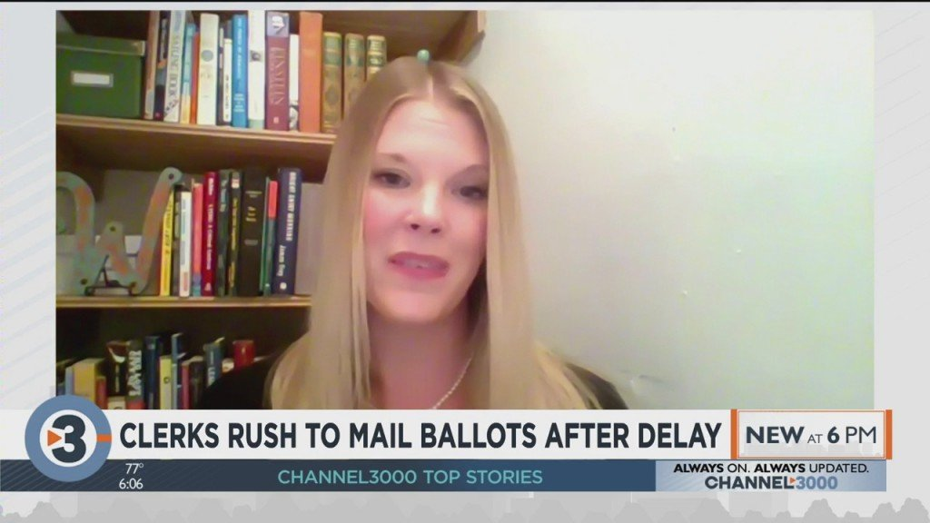 Clerks Rush To Mail Ballots After Delay