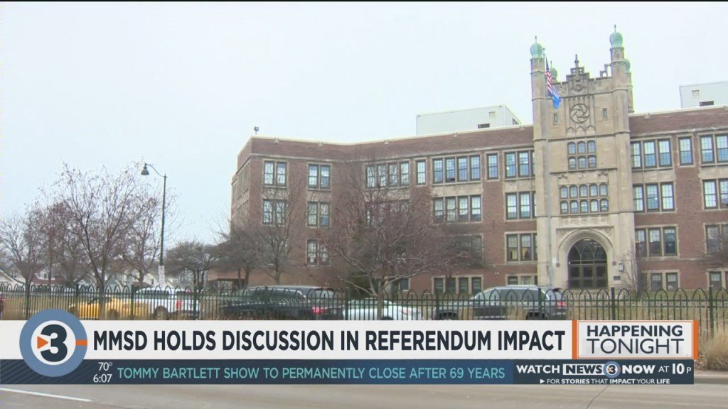 Mmsd Holds Discussion On Referendum Impact