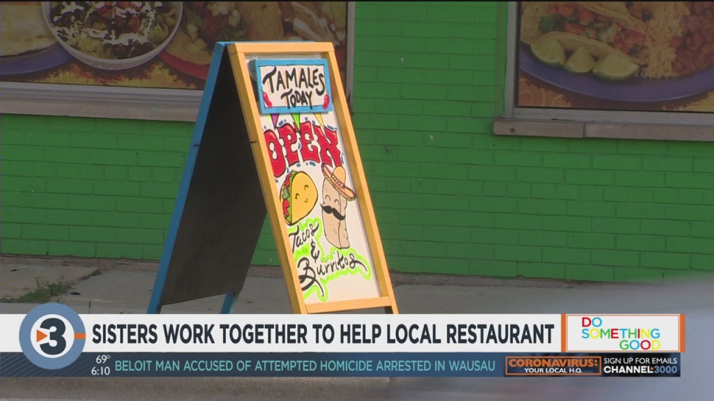 Sisters Work Together To Help Madison Restaurant