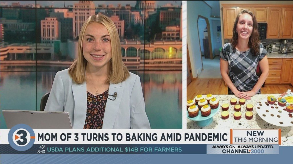 Mom Of 3 Turns To Baking Amid Pandemic