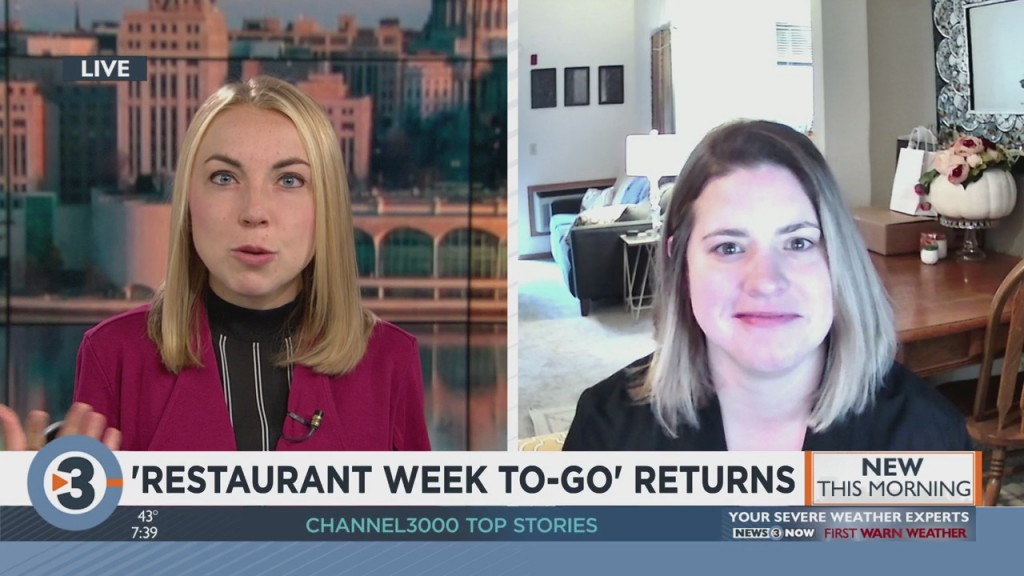 'restaurant Week To Go' Returns