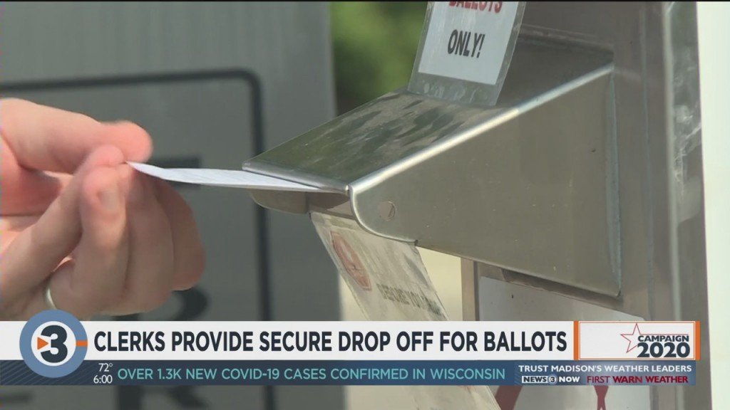 Clerks Provide Secure Drop Off For Ballots